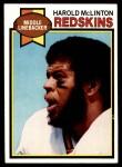 1979 Topps #111  Harold McLinton  Front Thumbnail