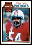 1979 Topps #262  Steve Zabel  Front Thumbnail