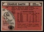1980 Topps #154  Charlie Smith  Back Thumbnail