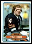1980 Topps #267  Tom Hicks  Front Thumbnail