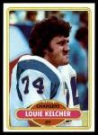 1980 Topps #412  Louie Kelcher  Front Thumbnail
