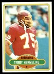 1980 Topps #166  Terry Hermeling  Front Thumbnail