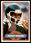 1980 Topps #315  Wesley Walker  Front Thumbnail