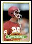 1980 Topps #308  Gary Barbaro  Front Thumbnail