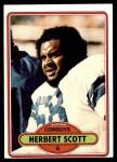 1980 Topps #33  Herb Scott  Front Thumbnail