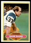 1980 Topps #108  Hank Bauer  Front Thumbnail