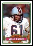 1980 Topps #368  Willie Parker C  Front Thumbnail