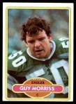 1980 Topps #497  Guy Morriss  Front Thumbnail