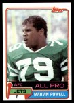 1981 Topps #460  Marvin Powell  Front Thumbnail