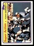 1981 Topps #138  Tony Dorsett  Front Thumbnail