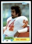1981 Topps #354  Eric Harris  Front Thumbnail