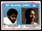 1981 Topps #2   -  Kellen Winslow / Earl Cooper Receiving Leaders Front Thumbnail