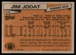 1981 Topps #358  Jim Jodat  Back Thumbnail