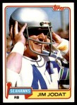 1981 Topps #358  Jim Jodat  Front Thumbnail