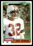 1981 Topps #472  Andy Johnson  Front Thumbnail