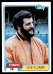 1981 Topps #505  Lyle Alzado  Front Thumbnail