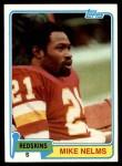 1981 Topps #407  Mike Nelms  Front Thumbnail