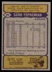 1979 Topps #96  Garo Yepremian  Back Thumbnail