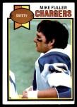 1979 Topps #254  Mike Fuller  Front Thumbnail