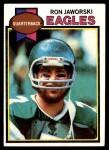 1979 Topps #323  Ron Jaworski  Front Thumbnail