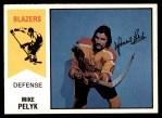 1974 O-Pee-Chee WHA #19  Mike Pelyk  Front Thumbnail