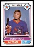1975 O-Pee-Chee WHA #65   -  Bobby Hull All-Star Front Thumbnail