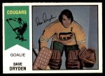 1974 O-Pee-Chee WHA #20  Dave Dryden  Front Thumbnail