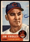 1953 Topps #187 ERR Jim Fridley  Front Thumbnail