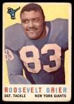 1959 Topps #29  Roosevelt Grier  Front Thumbnail