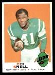 1969 Topps #193  Matt Snell  Front Thumbnail