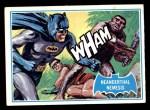 1966 Topps Batman Blue Bat Back #14   Neanderthal Nemesis Front Thumbnail