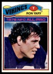 1977 Topps #150  Ron Yary  Front Thumbnail