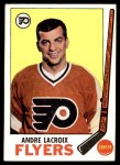 1969 Topps #98  Andre Lacroix  Front Thumbnail