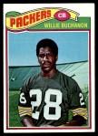 1977 Topps #402  Willie Buchanon  Front Thumbnail