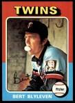 1975 Topps #30  Bert Blyleven  Front Thumbnail