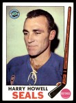 1969 Topps #79  Harry Howell  Front Thumbnail