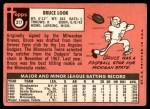 1969 Topps #317  Bruce Look  Back Thumbnail