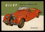 1954 Topps World on Wheels #127   Riley Front Thumbnail