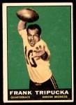 1961 Topps #193  Frank Tripucka  Front Thumbnail