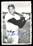 1969 Topps Deckle Edge #33  Willie Mays  Front Thumbnail