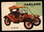 1954 Topps World on Wheels #68   Oakland Roadster 1911 Front Thumbnail