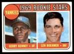 1969 Topps #519   -  Len Boehmer / Gerry Kenney Yankees Rookies Front Thumbnail