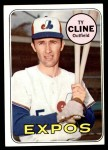 1969 Topps #442  Ty Cline  Front Thumbnail