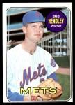 1969 Topps #144  Bob Hendley  Front Thumbnail