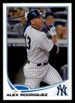 2013 Topps #213  Alex Rodriguez   Front Thumbnail