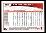 2013 Topps #235  Jake Westbrook   Back Thumbnail