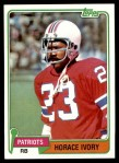 1981 Topps #372  Horace Ivory  Front Thumbnail