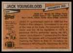 1981 Topps #205  Jack Youngblood  Back Thumbnail