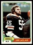 1981 Topps #462  Jim LeClair  Front Thumbnail