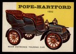 1954 Topps World on Wheels #154   Pope-Hartford Touring Car Front Thumbnail